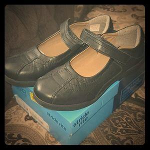 Black memory foam shoes